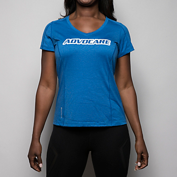 AdvoCare Ladies Endurance Pulse V-neck Tee