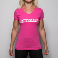 AdvoCare Wordmark V-neck Tee
