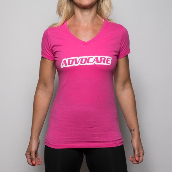 AdvoCare Wordmark V-neck Tee
