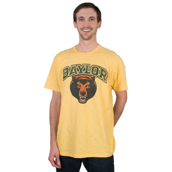 Baylor Bears 47 Gold Scrum Tee