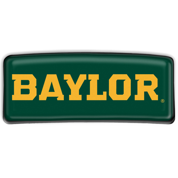 Baylor Bears Large Rectangle Barrette