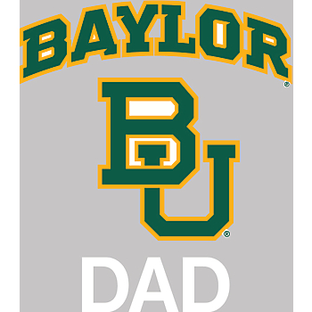 Baylor Bears 4x5 Dad Decal