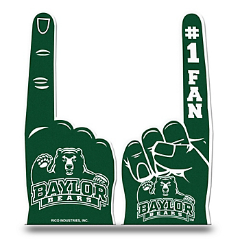 Baylor Bears Foam Finger