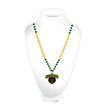 Baylor Bears Medallion Beads Necklace