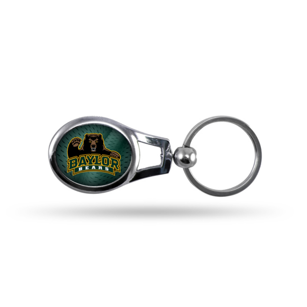 Baylor Bears Oval Key Chain