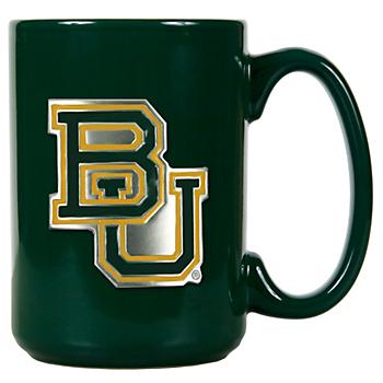Baylor Bears Green Ceramic Coffee Mug