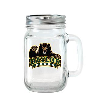 Baylor Bears Glass Jar with Handle