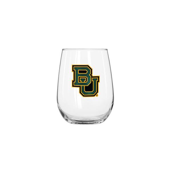 Baylor Bears 16 oz Curved Beverage Glass