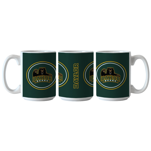 Baylor Bears Sublimated Warm Up Mug