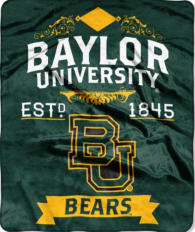 Baylor Bears Raschel Throw