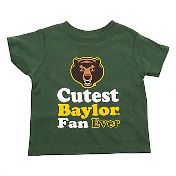 Baylor Bears Toddler Short Sleeve T-Shirt
