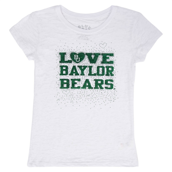 Baylor Bears Blue 84 Youth Burnout Tee