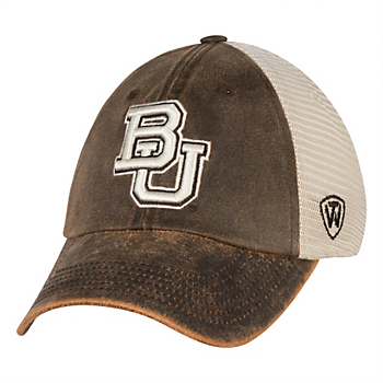 Baylor Bears Top Of The World Scat Mesh Cap