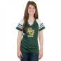 Baylor Bears Majestic Womens Final Quarter Lace Up Top