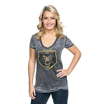 Baylor Bears 5th & Ocean Burnout V-Neck Tee