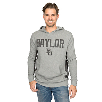 Baylor Bears Colosseum Frigid Hooded Long Sleeve Tee