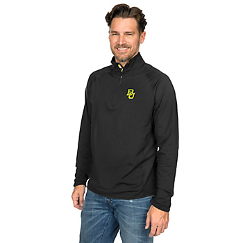 Baylor Bears Levelwear State Map Metro 1/4 Zip Pullover