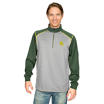 Baylor Bears Antigua Breakdown 1/4 Zip Fleece Pullover