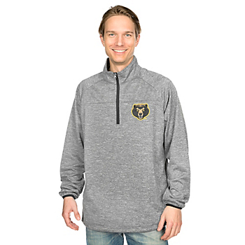 Baylor Bears GIII Franchise 1/4 Zip Fleece Pullover