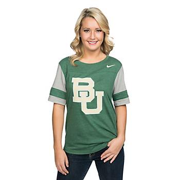 Baylor Bears Nike College Womens Fan Top