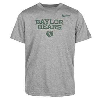 Baylor Bears Nike Youth Dri-Fit Short Sleeve Tee