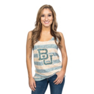 Baylor Bears Blue 84 Womens Greek Key Tank