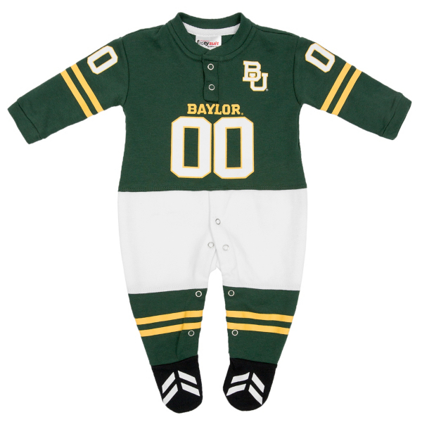 Baylor Bears Infant Footysuit