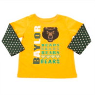 Baylor Bears Colosseum Toddler Super Cool Layered Tee