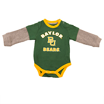 Baylor Bears Colosseum  Infant Thermal Onesie