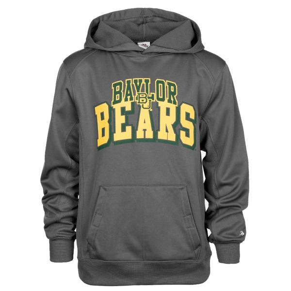 Baylor Bears Badger Youth Fleece Hoodie