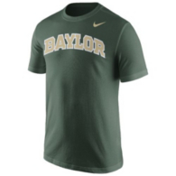 Baylor Bears Nike Cotton Short Sleeve Wordmark Tee