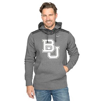 Baylor Bears Nike Hybrid Pullover Fleece Hoody