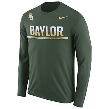 Baylor Bears Nike Legend Staff Long Sleeve Tee