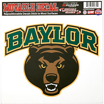 Baylor Bears 12x12 Repositionable Decal