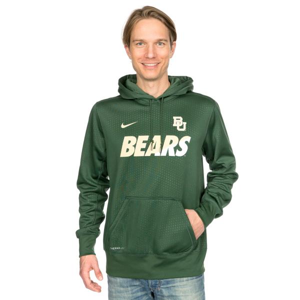 Baylor Bears Nike Sideline KO Fleece Pullover