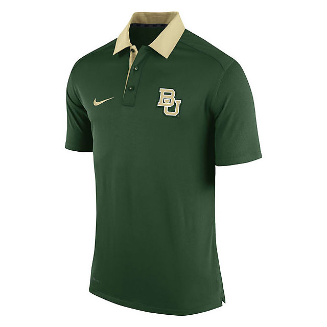 Baylor Bears Nike Elite Coaches Polo