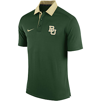 Baylor Bears Nike Coaches Elite Polo