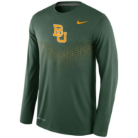 Baylor Bears Nike Legend Long Sleeve Sideline Tee