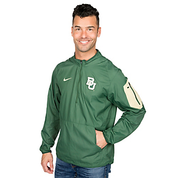 Baylor Bears Nike Lockdown Half Zip Jacket