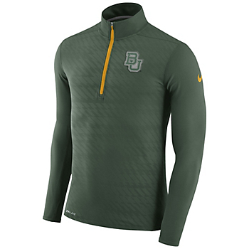 Baylor Bears Nike Dry Element Half-Zip Pullover