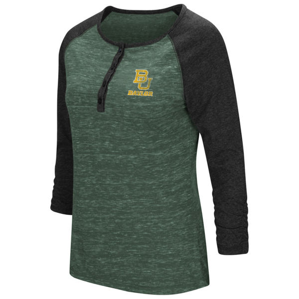 Baylor Bears Colosseum Slopestyle 3/4 Henley Tee