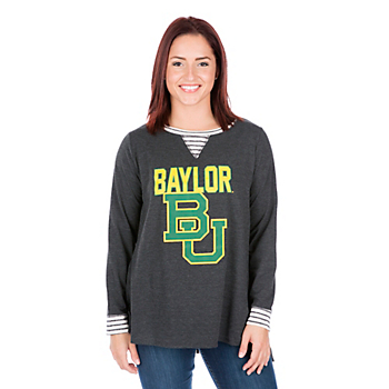 Baylor Bears Womens Back Panel Tunic
