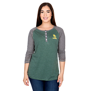 Baylor Bears Womens 8-Pound Henley
