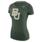 Baylor Bears Womens Nike Logo Short Sleeve Tee