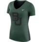Baylor Bears Nike Womens Dri-FIT V-Neck Tee