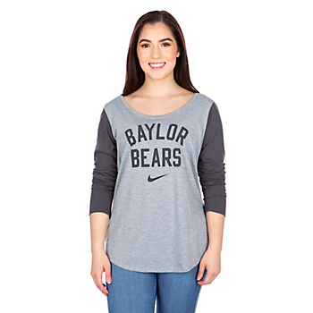 Baylor Bears Womens Nike Modern Long Sleeve T-Shirt