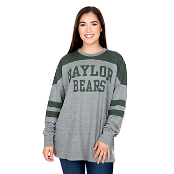 Baylor Bears Pressbox Womens Peyton Long Sleeve T-Shirt
