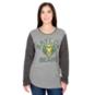 Baylor Bears Pressbox Womens Ariel Long Sleeve T-Shirt