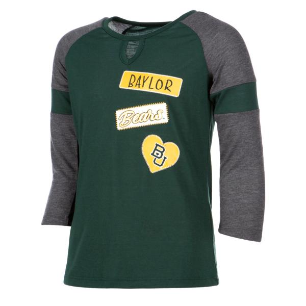 Baylor Bears Colosseum Girls All You Need 3/4 Sleeve T-Shirt