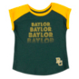 Baylor Bears Colosseum Toddler Girls Go Kart Cuffed Short Sleeve T-Shirt